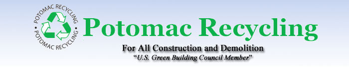 Potomac Recycling-For All Construction and Demolition-USGBC LEED Member